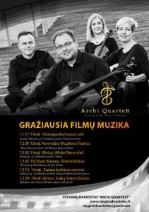 Gražiausia filmų muzika/Archi Quartett